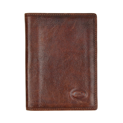 The Bridge Leather Wallet/Billfold - Brown