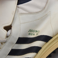 Load image into Gallery viewer, Vintage Adidas Jogging High Sneakers Size 12 - 47 1/3 - White/Navy
