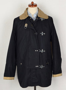 Fay Fireman's Canvas Coat Size L - Navy