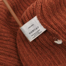 Load image into Gallery viewer, HOMECORE Knit Sweater Size M - Rust Orange