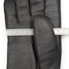 Load image into Gallery viewer, Shearling-Lined Lamb Nappa Gloves Size 8 1/2 - Black