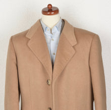 Load image into Gallery viewer, Calw Bespoke 100% Camel Hair Overcoat - Camel/Beige
