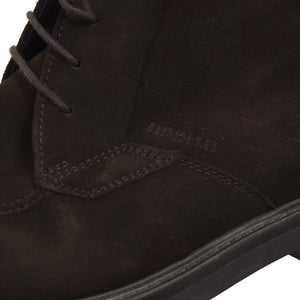 Apollo Shearling-Lined Suede Boots Size 8 - Brown