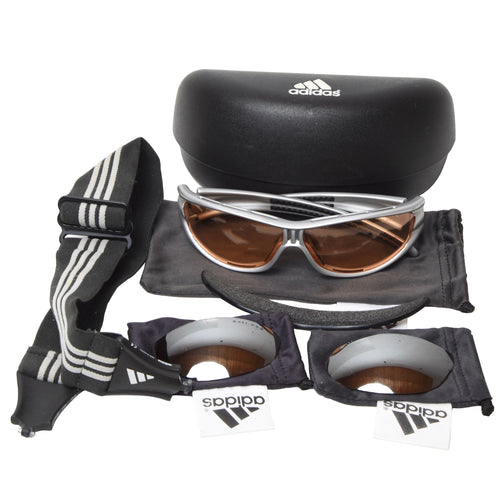 Adidas A135 6054 Evil Eye Sunglasses - Grey/Silver