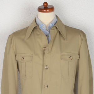 Vintage '60s Bücking Kompass Shirt-Jacket Size 54 - Tan