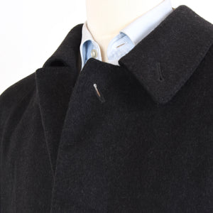 Don Gil 100% Cashmere Overcoat Size 48 - Charcoal
