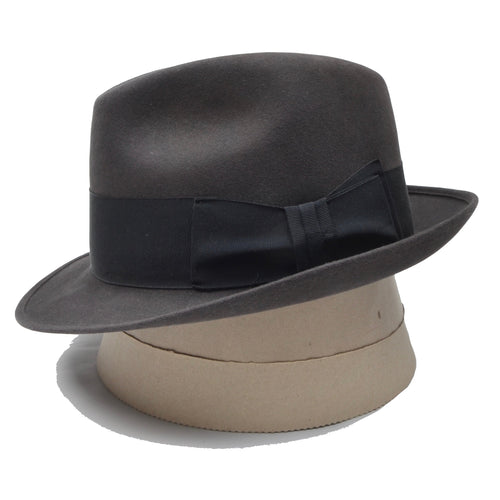 Royal Stetson Felt Hat Size 57 - Grey