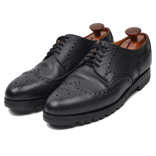 Ludwig Reiter Budapester Shoes Size 10 - Black