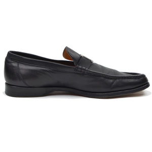 Hermès Paris H Buckle Loafer Size 42.5 - Black
