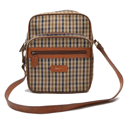 Aquascutum London Shoulder Bag - House Check