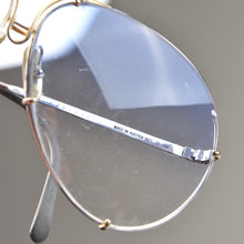 Load image into Gallery viewer, Vintage Porsche Design 5621 Sunglasses - Silver and Blue
