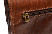 Load image into Gallery viewer, The Bridge Firenze Leather Briefcase/Business Bag - Brown 2