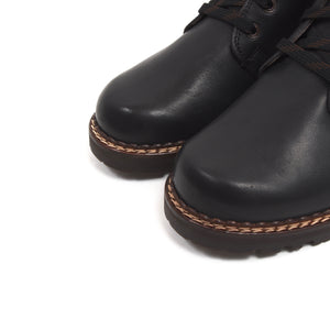NEW Meindl Shearling-Lined Boots Size 7.5 - Black