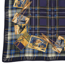Load image into Gallery viewer, Breuer Après Ski Silk Scarf - Plaid