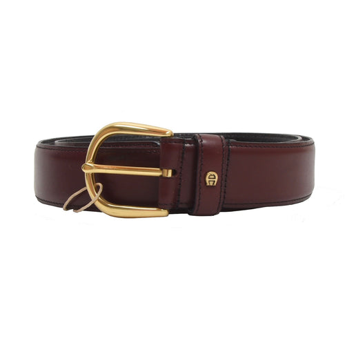 Etienne Aigner Leather Belt Size 90/36 - Burgundy