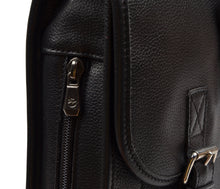 Load image into Gallery viewer, Longchamp Paris Softsided Leather Briefcase - Black