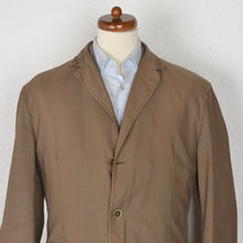 Load image into Gallery viewer, Henry Cotton's Cotton/Linen Jacket Size 58 - Brown