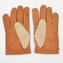 Load image into Gallery viewer, Leather & Knit Driving Gloves - Size 8