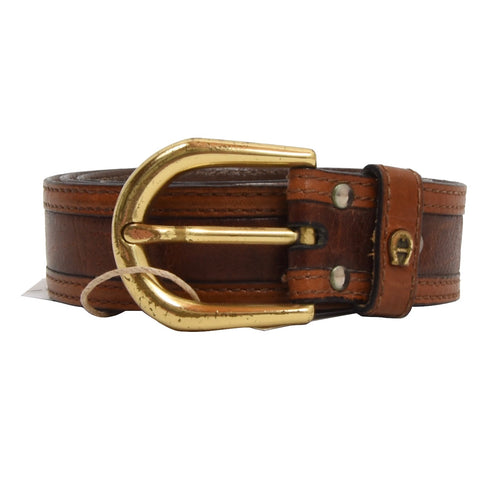 Etienne Aigner Leather Belt Size 85/34 - Brown