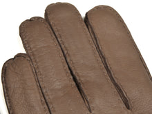 Load image into Gallery viewer, Lined Deerskin Gloves Size 8 - Taupe