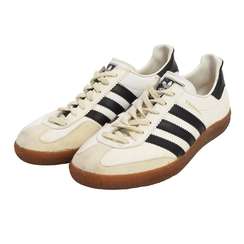 Vintage Adidas Universal Sneakers Made in West Germany Size 6.5 - White/Black