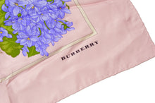 Load image into Gallery viewer, Burberry London Printed Silk Scarf - Pink