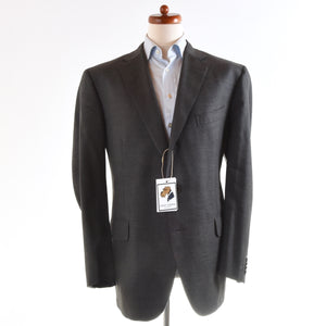 Boglioli Wool Suit Size 58 - Grey