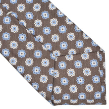 Load image into Gallery viewer, Van Laack Linen Silk Tie - Flower Print