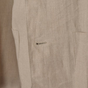 Bernini of Beverly Hills Linen Jacket - Sand