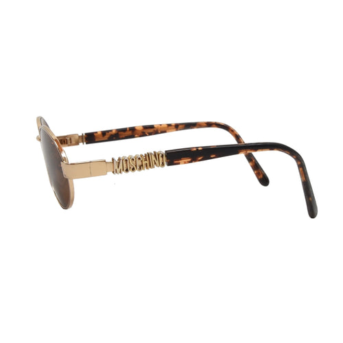Moschino x Persol MM523 Spellout Sunglasses - Gold & Tortoise