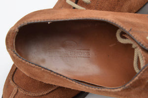 Prime Shoes Norweger Suede Size 8.5 - Brown
