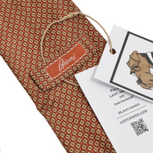 Load image into Gallery viewer, Brioni Silk Tie - Copper