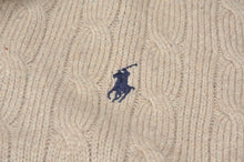 Load image into Gallery viewer, Polo Ralph Lauren 100% Tussah Silk Pullover Size L - Beige/Sand
