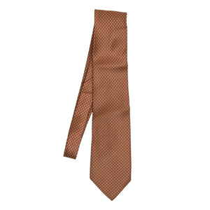 Brioni Silk Tie - Copper