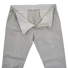 Load image into Gallery viewer, Luigi Borrelli Cotton Pants Size 54 - Grey