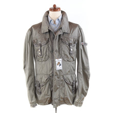 Load image into Gallery viewer, Peuterey Sambo Technical Field Jacket Size XXL - Silver/Grey
