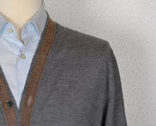 Load image into Gallery viewer, Etro Milano Wool Cardigan Sweater - Grey