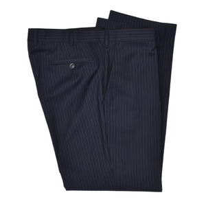 Recent DAKS London Wool Suit Size 25/50 Short - Navy Pinstripe