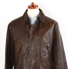 Load image into Gallery viewer, Polo Ralph Lauren Moto/Shooting Leather Jacket Size XL - Brown