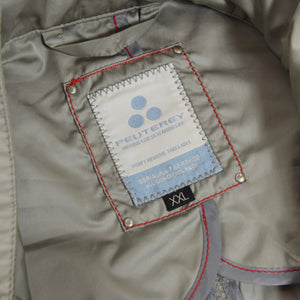 Peuterey Sambo Technical Field Jacket Size XXL - Silver/Grey