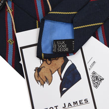 Load image into Gallery viewer, DAKS London Silk Tie - Stripes