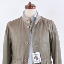 Load image into Gallery viewer, GMS-75/Gimos Leather Jacket Size L - Grey/Taupe