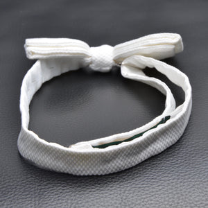 Ede & Ravenscroft Formal Bow Tie - White