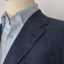 Load image into Gallery viewer, Boggi Milano Wool/Silk/Linen Jacket Size 54 - Blue