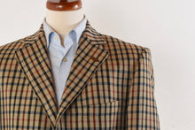 Load image into Gallery viewer, DAKS Wool Jacket Size 98 - House Check