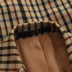 DAKS Wool Jacket Size 98 - House Check