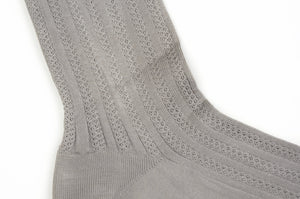 NOS Elbeo Cotton Socks Size 11  - Light Grey