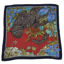 Load image into Gallery viewer, Salvatore Ferragamo Silk Scarf - Black Panther
