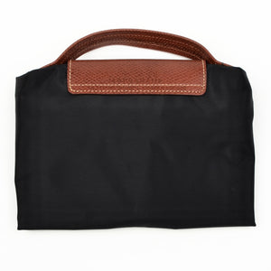 "Longchamp Paris Les Pliage Bag ""Docs"" - Black"