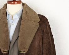 Load image into Gallery viewer, Vintage Shearling Coat Size 50 - Brown